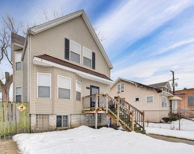 Chicago Single Family Home New: 1133 West 104th Place