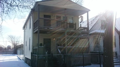 Chicago Multi Family Home New: 4149 South Wells Street