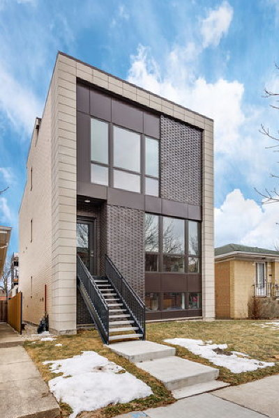 Chicago Single Family Home New: 2308 West Erie Street