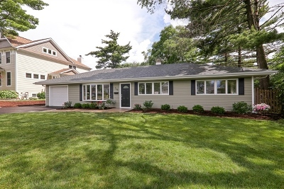 Wheaton Single Family Home New: 126 East Hawthorne Boulevard