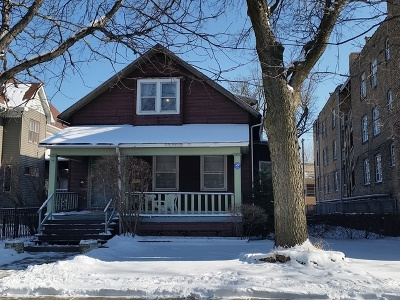 Chicago Multi Family Home New: 4253 North Hermitage Avenue