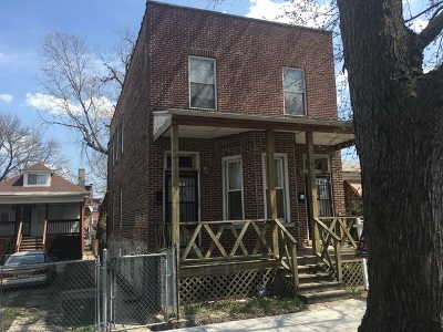Chicago Multi Family Home New: 6237 South Ada Street