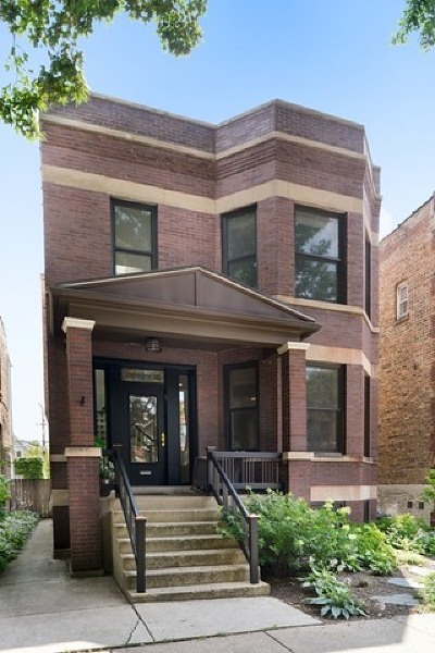 Chicago Single Family Home New: 3833 North Claremont Avenue