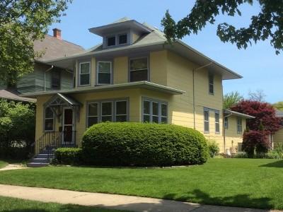 Oak Park Single Family Home For Sale: 838 Clinton Avenue