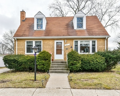 Lansing  Single Family Home For Sale: 18031 Exchange Avenue