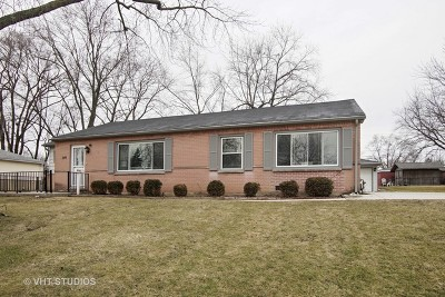 Hoffman Estates Single Family Home New: 740 Ash Road