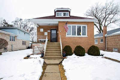Evergreen Park Single Family Home For Sale: 9212 South Albany Avenue