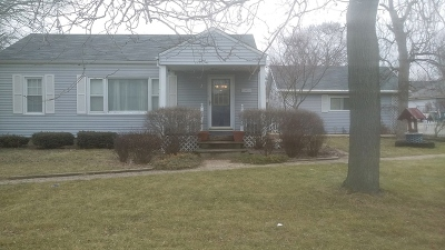 Plainfield Single Family Home For Sale: 21926 West Taylor Road
