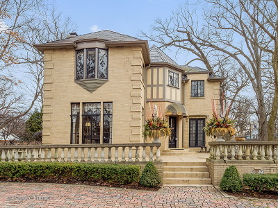 Glen Ellyn Single Family Home New: 587 Hickory Road