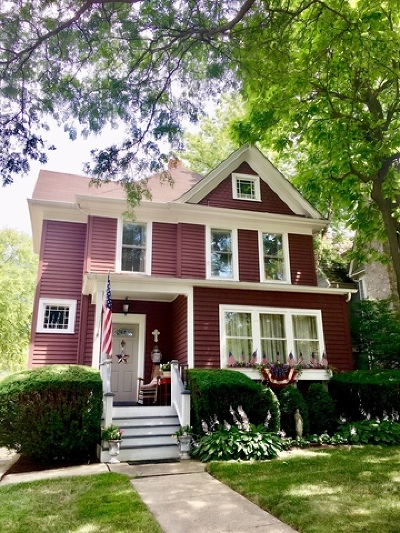 Hinsdale Single Family Home New: 717 South Grant Street