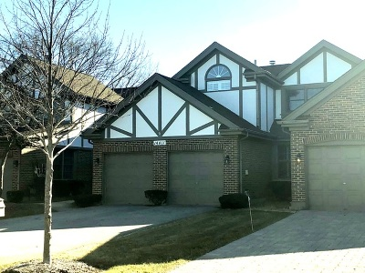 Orland Park Condo/Townhouse New: 14411 Crystal Tree Drive