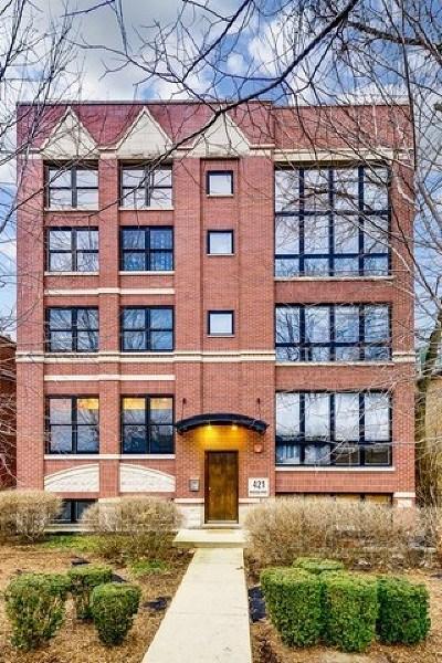 Oak Park Condo/Townhouse For Sale: 421 South Ridgeland Avenue #2N