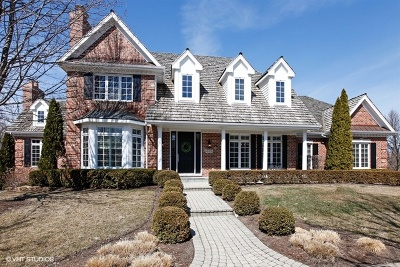 Burr Ridge IL Single Family Home New: $1,199,993