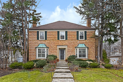 Wilmette Single Family Home For Sale: 816 Gregory Avenue