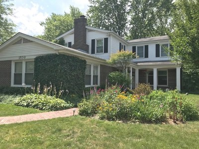 Deerfield Single Family Home New: 1530 Woodvale Avenue