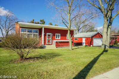 Mokena Single Family Home Re-Activated: 10820 1st Street