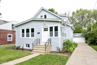 Villa Park Single Family Home Price Change: 414 East Washington Street