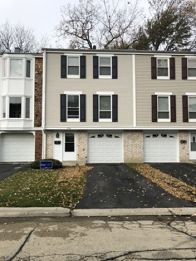 Hoffman Estates Condo/Townhouse For Sale: 1990 Brighton Lane
