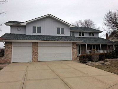 Tinley Park Single Family Home For Sale: 8172 Cove Court