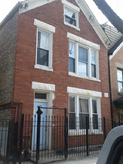 Multi Family Home Re-Activated: 2655 South Trumbull Avenue