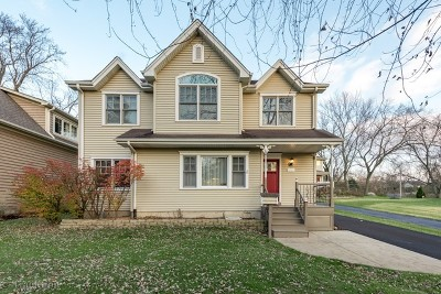 Downers Grove Single Family Home For Sale: 5527 Carpenter Street