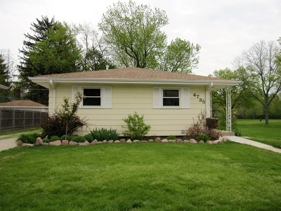 Downers Grove Single Family Home For Sale: 4735 Fairview Avenue