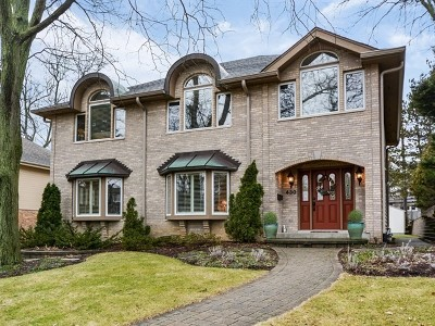 Hinsdale Single Family Home For Sale: 430 South Quincy Street