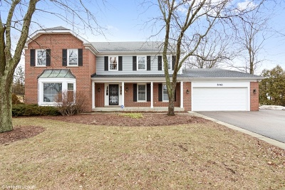 Hoffman Estates Single Family Home For Sale: 5061 Thornbark Drive