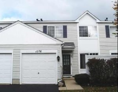 Naperville Condo/Townhouse For Sale: 1376 Normantown Road