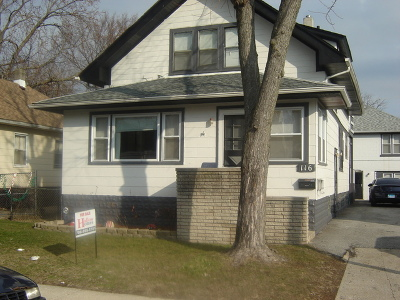 Calumet City  Single Family Home For Sale: 116 157th Street