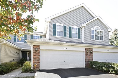 East Dundee Condo/Townhouse For Sale: 572 Springwood Court