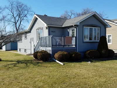 Justice  Single Family Home For Sale: 7624 Oak Grove Avenue
