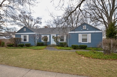 Wilmette Single Family Home For Sale: 842 Leyden Lane