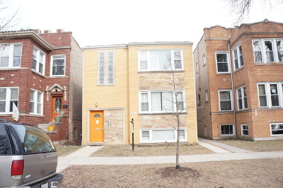 Chicago Multi Family Home New: 4921 North Talman Avenue