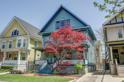 Oak Park Single Family Home For Sale: 108 Wesley Avenue