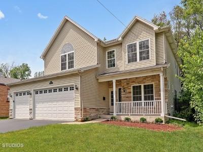 Wheaton Single Family Home For Sale: 917 East Indiana Street