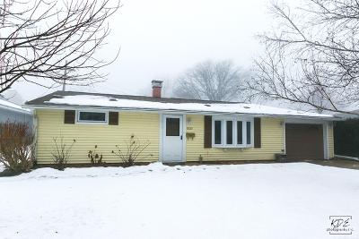 Plainfield Single Family Home For Sale: 15120 South Miles Avenue