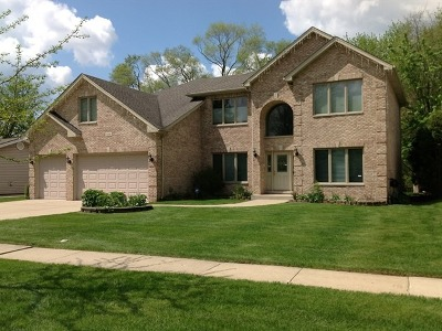 Schaumburg Single Family Home For Sale: 100 Westover Lane