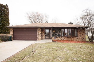 Downers Grove Single Family Home For Sale: 9s305 Rosehill Lane