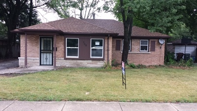 Park Forest Single Family Home For Sale: 106 Sauk Trail