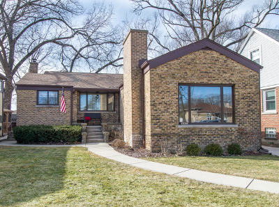 La Grange Park Single Family Home For Sale: 1534 Alima Terrace