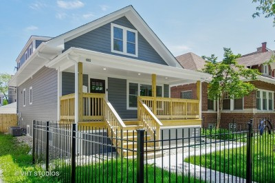 Chicago Single Family Home Re-Activated: 4851 North Monticello Avenue
