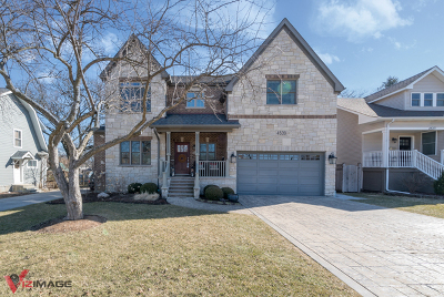 Downers Grove Single Family Home Price Change: 4509 Highland Avenue