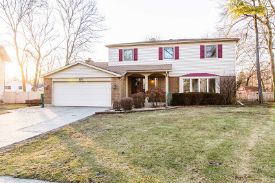 Buffalo Grove Single Family Home Price Change: 872 Sussex Court