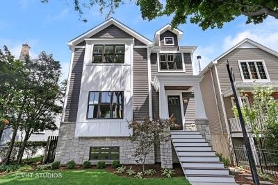 Single Family Home For Sale: 3541 North Marshfield Avenue