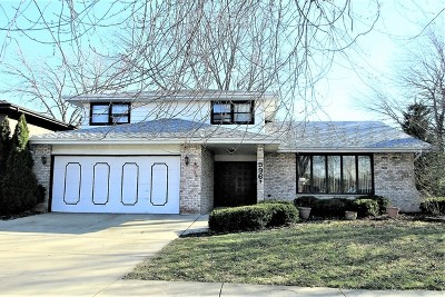 Alsip  Single Family Home For Sale: 5961 West 124th Street