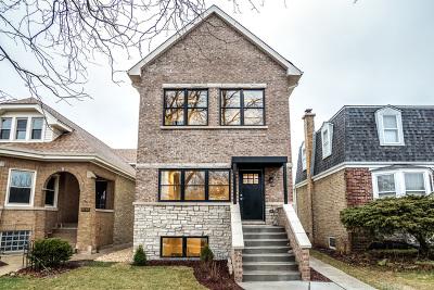 Chicago Single Family Home New: 5718 North Leonard Avenue
