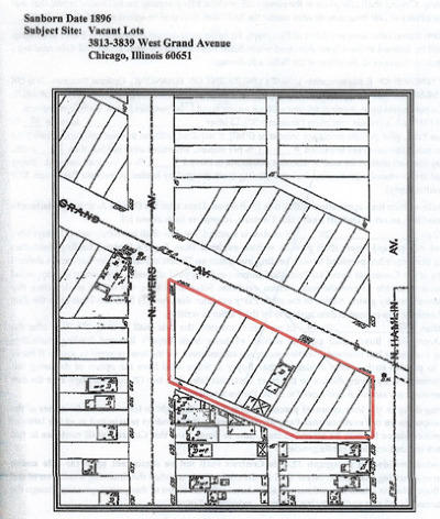 Chicago Residential Lots & Land For Sale: 3821 West Grand Avenue