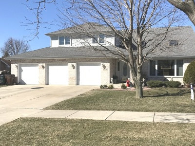 Mokena Single Family Home Price Change: 18820 Dickens Drive