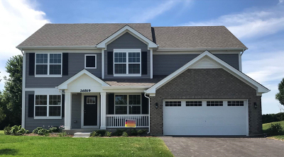 Plainfield Single Family Home For Sale: 26819 Ashgate Crossing